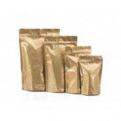 Altın Doypack Poşetler Gold Kilitli Poşet