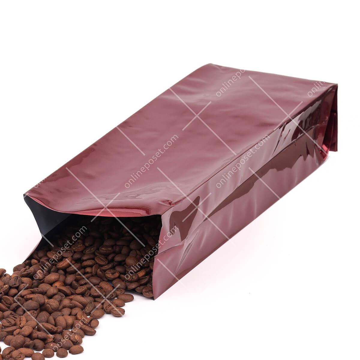 bordo kahve ambalajı