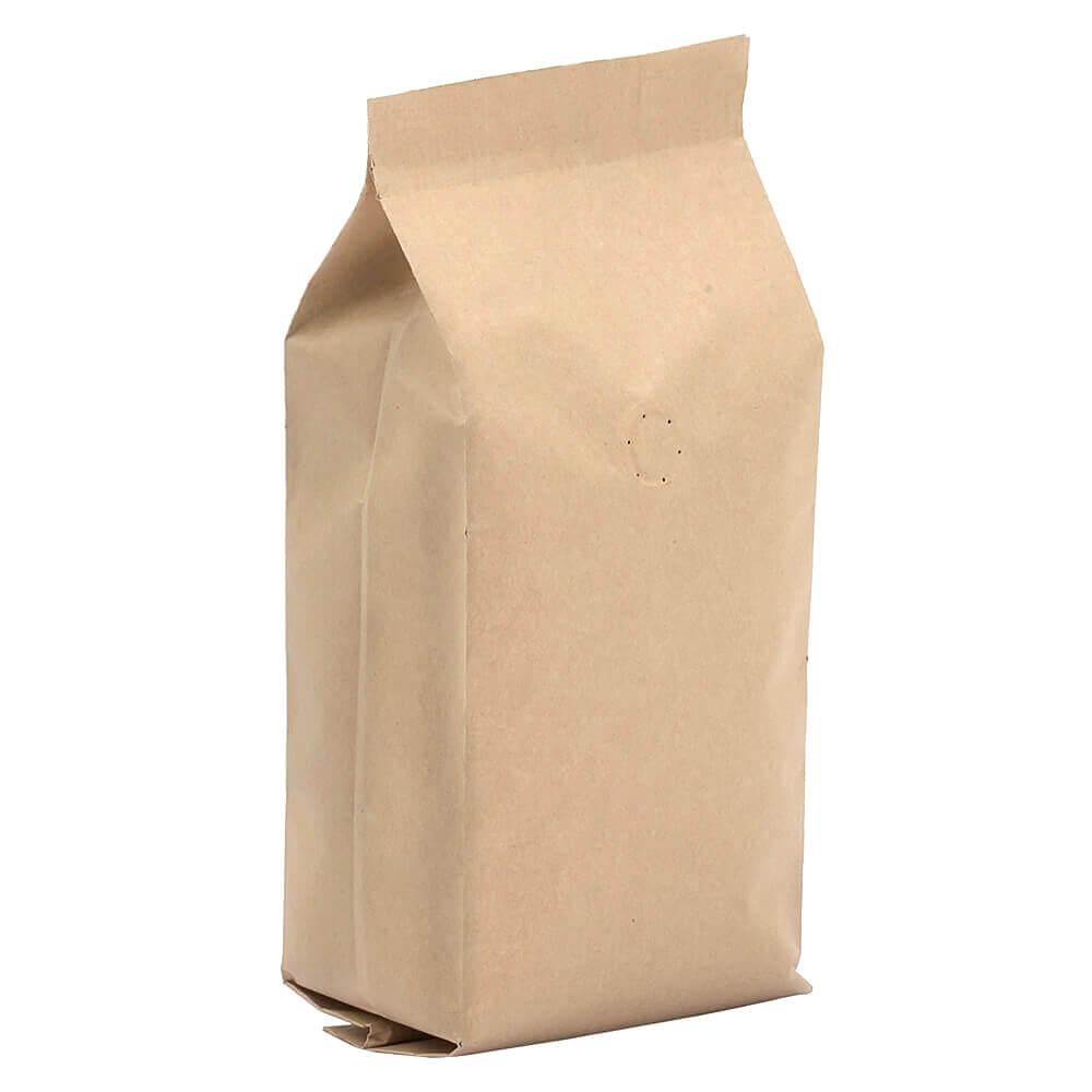 Kraft kahve torbası